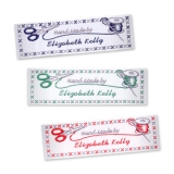 Personalised Woven Labels with Sewing Design