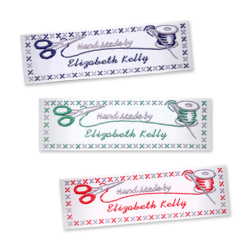 Sewing craft labels wide craft labels stitch for Sew in craft labels