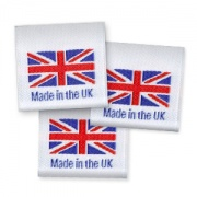 Made in the UK woven labels
