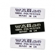 Woven Wash Care Labels