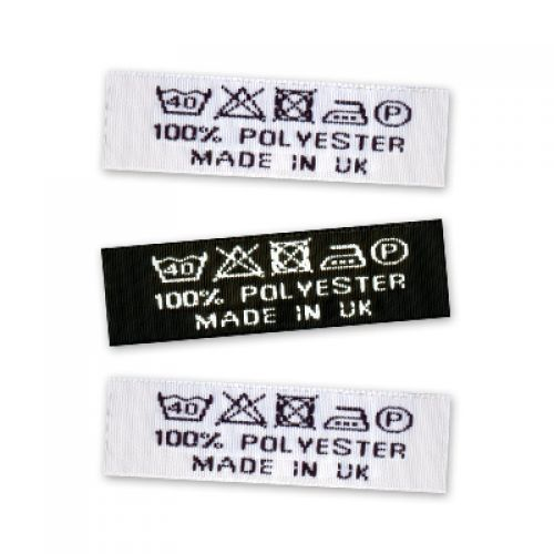 Excellent Woven Wash Care Labels | GB Name Tapes KK62