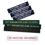 Scout and Guide Labels