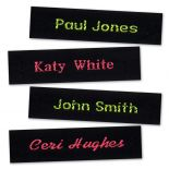 Fluoro Name Tapes