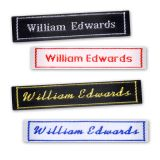 Bordered Name Tapes