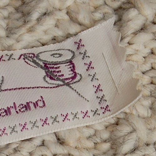 personalised woven labels with sewing theme gb name tapes